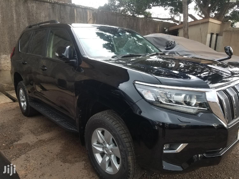 Toyota Land Cruiser Prado 2017 Black