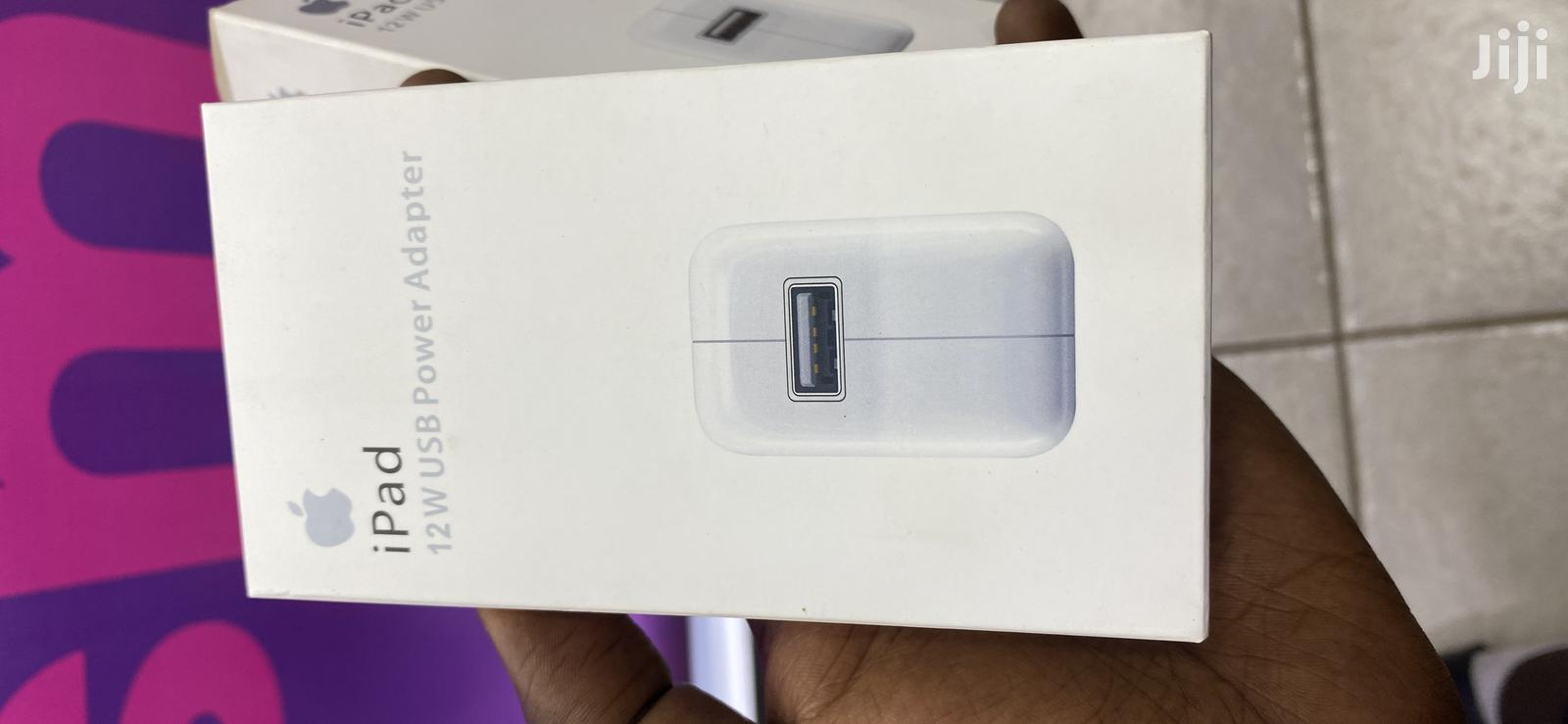 Apple iPad 12w Power Adapter Chargers iPhone   Accessories for Mobile Phones & Tablets for sale in Kampala, Central Region, Uganda
