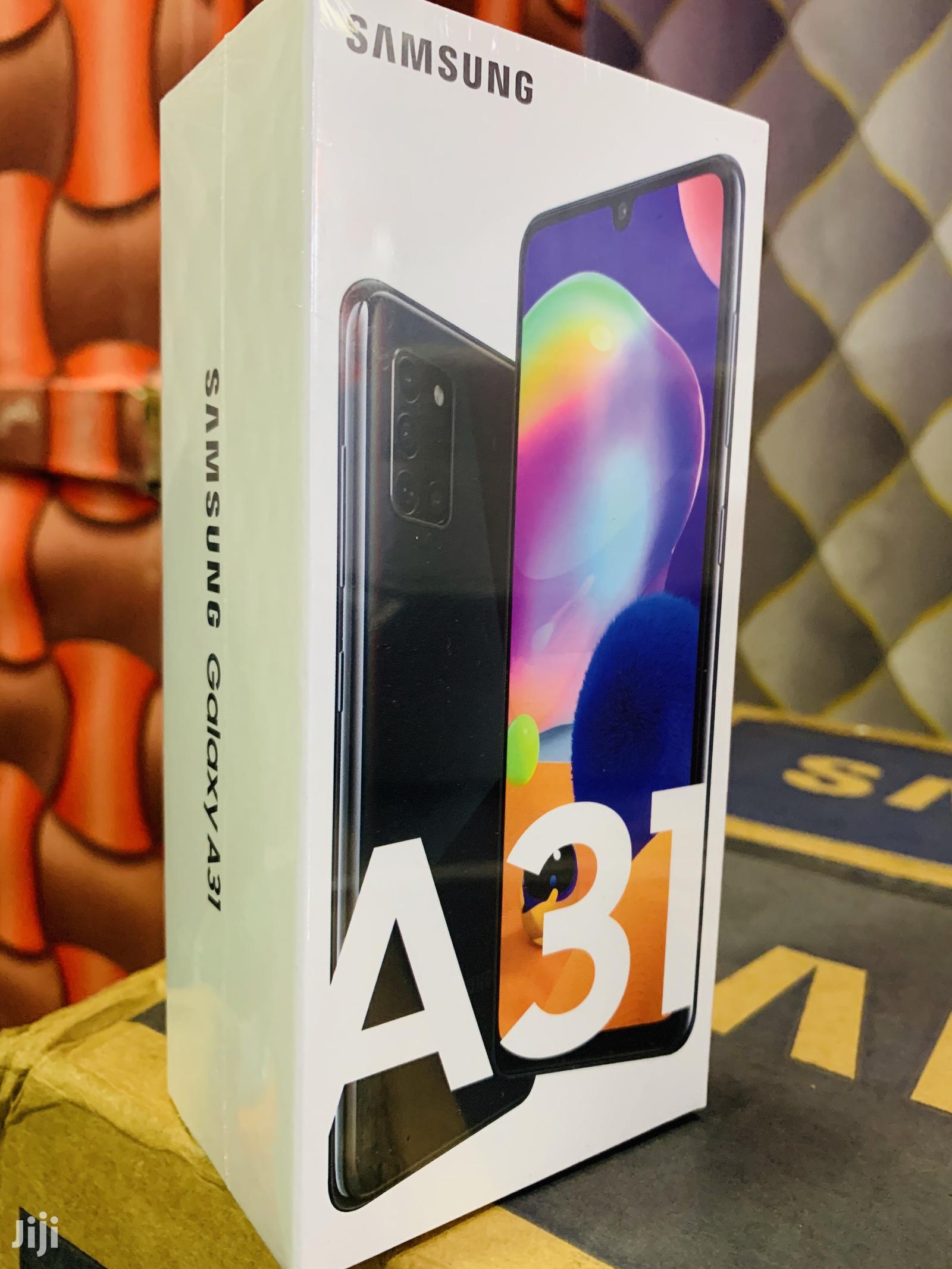New Samsung Galaxy A31 128 GB Black