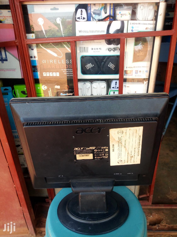 Acer Flat Screen Computer Monitor 15 Inches   Computer Monitors for sale in Mukono, Central Region, Uganda
