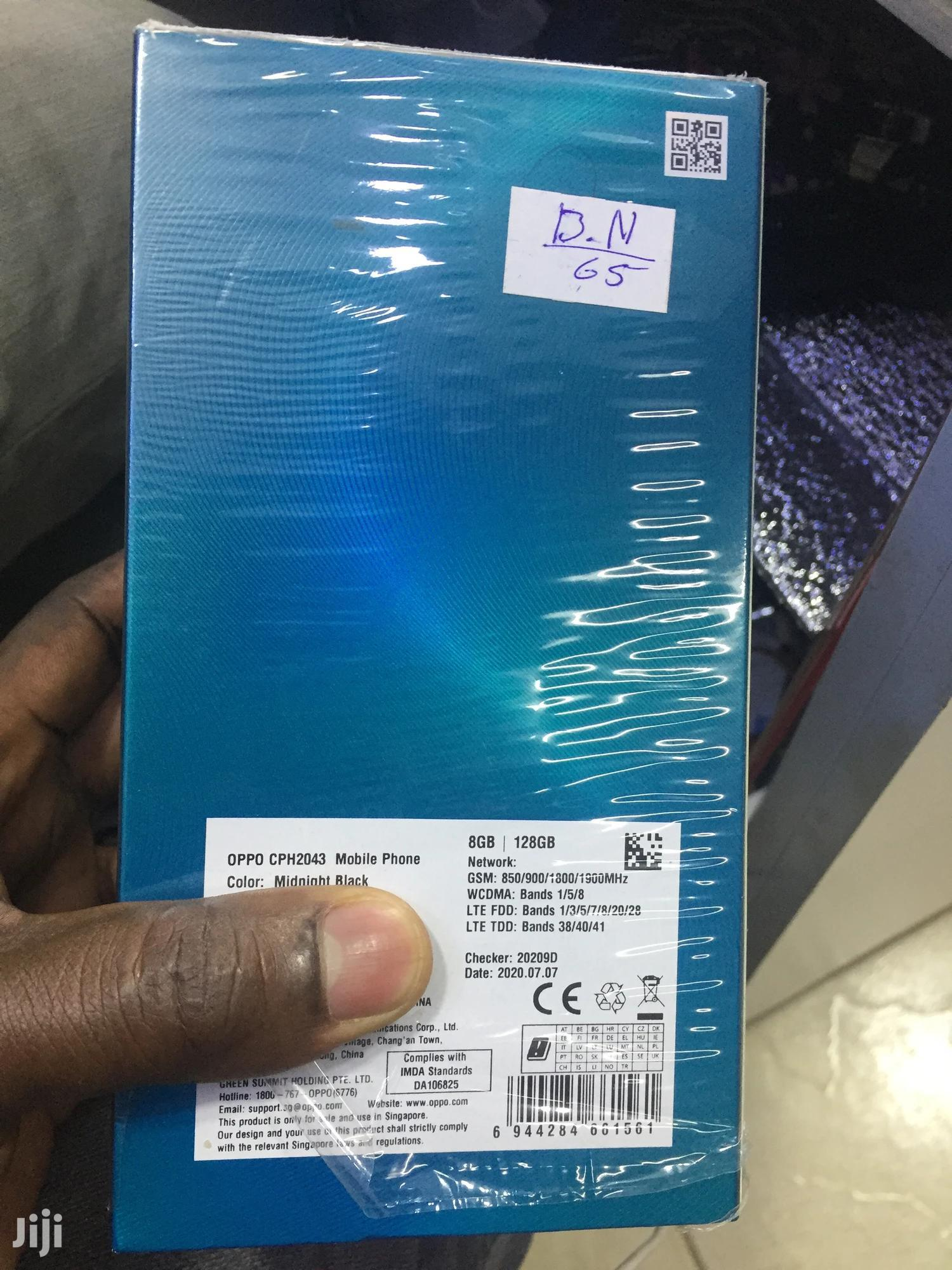 New Oppo Reno 3 128 GB Black | Mobile Phones for sale in Kampala, Central Region, Uganda