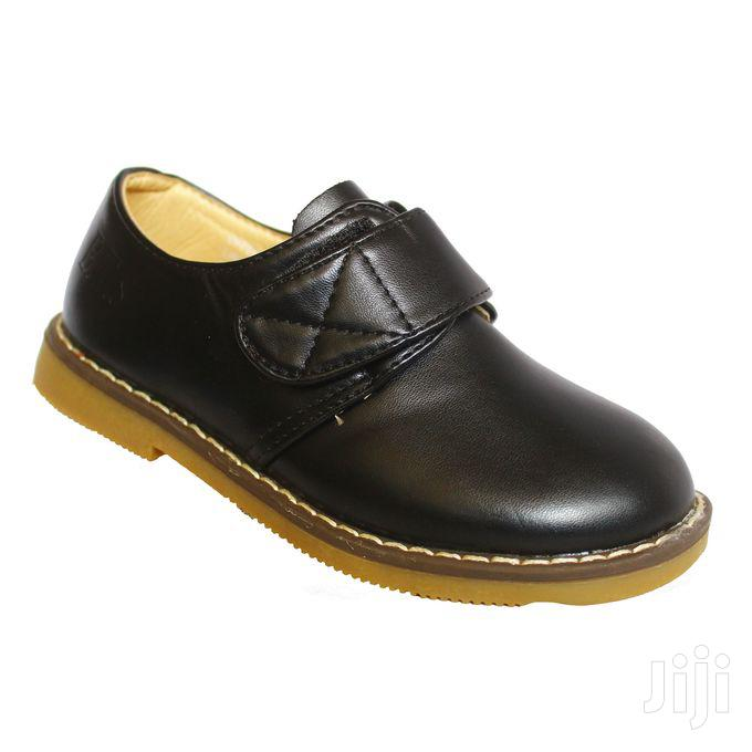 Generic Velcro Strap Leather Shoes for Girls   Children's Shoes for sale in Kampala, Central Region, Uganda