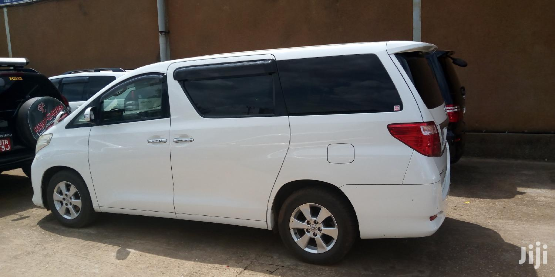 Toyota Alphard 2010 White   Cars for sale in Kampala, Central Region, Uganda