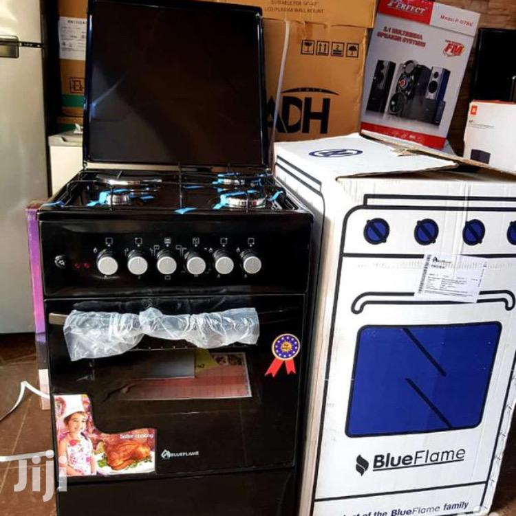 Blueflame Cooker 3 Gas 1 Electric