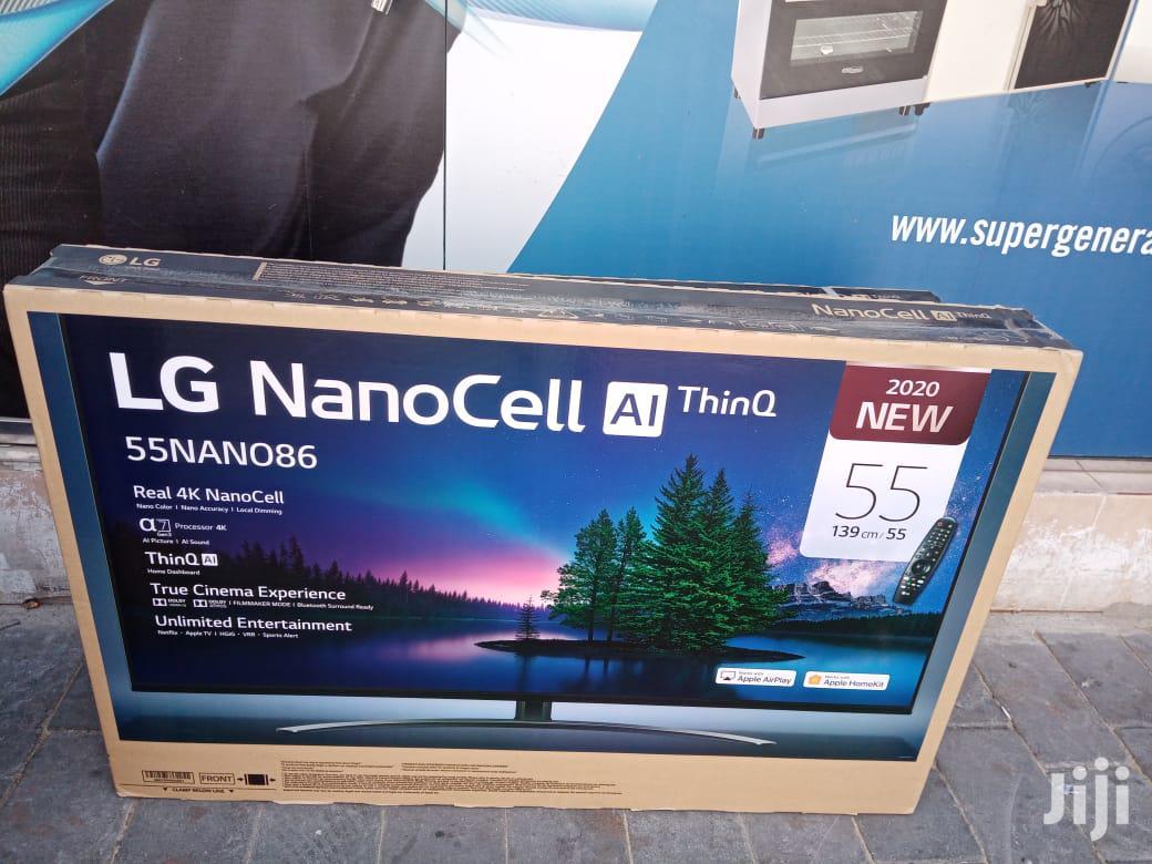 LG 55 Inch NANO86 2020
