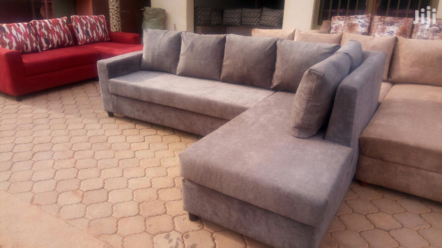 L Shape Sofa, Neat and Comfortable. Place You Order Today!