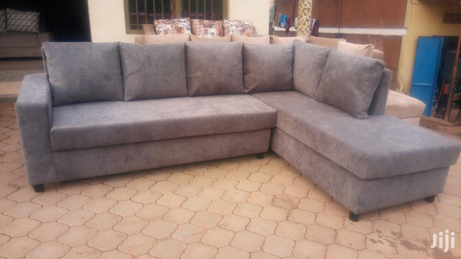 L Shape Sofa, Neat and Comfortable. Place You Order Today! | Furniture for sale in Kampala, Central Region, Uganda