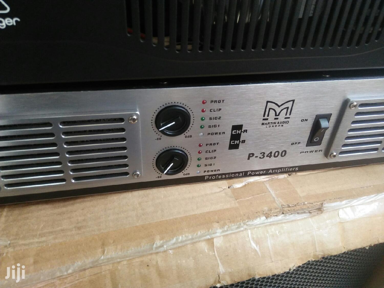 Martin Audio Amplifier