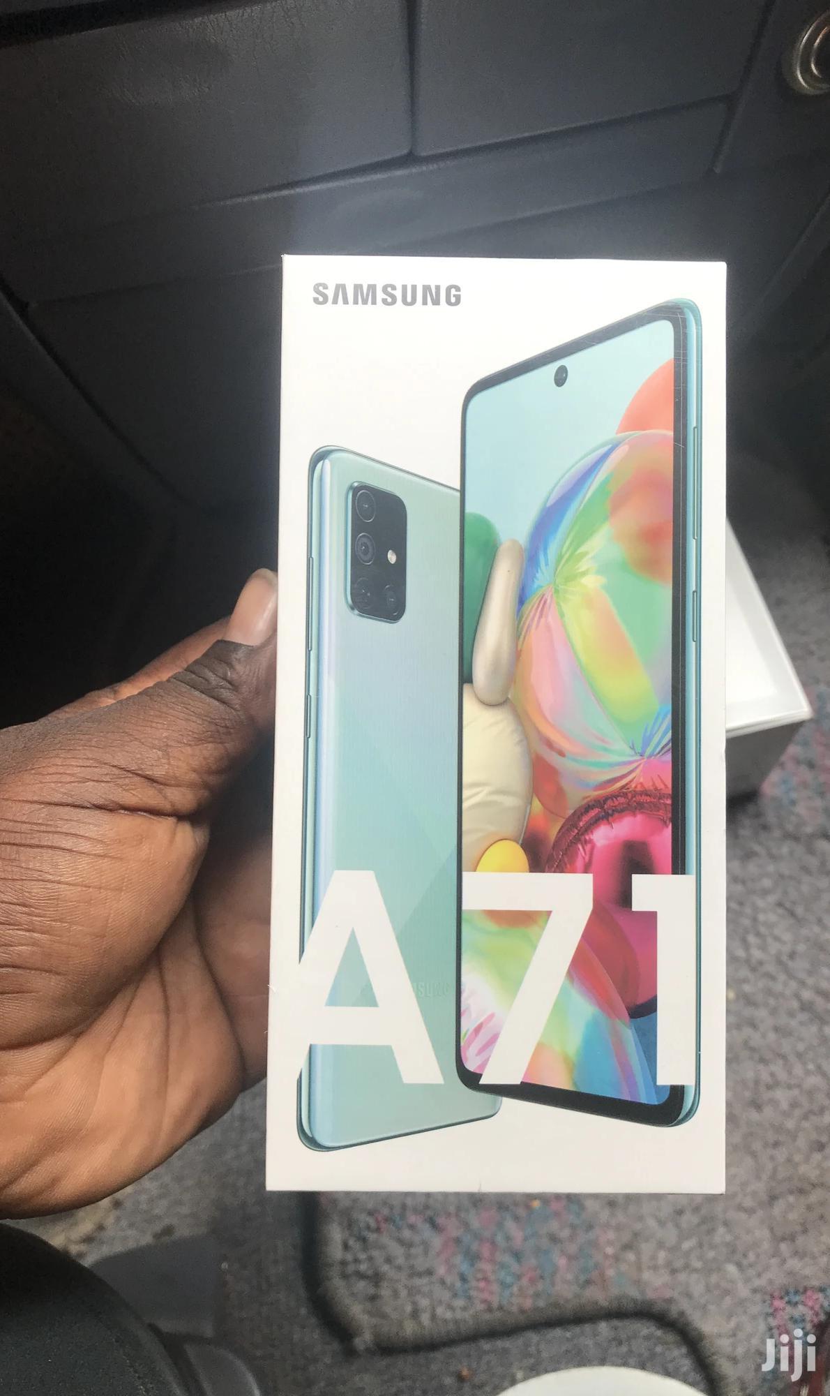 New Samsung Galaxy A71 128 GB Black