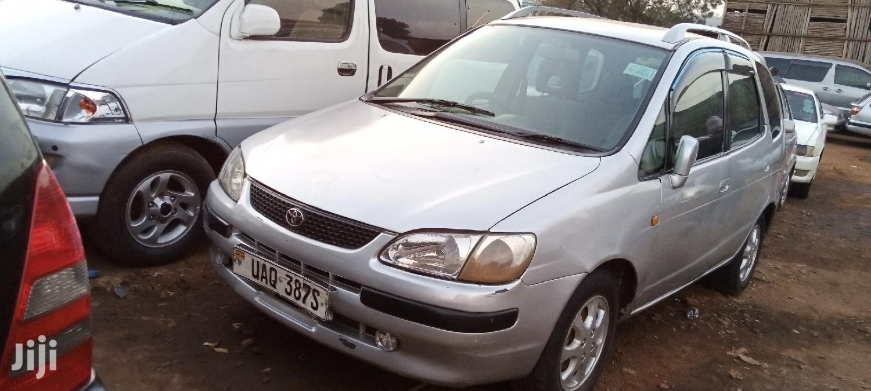 Toyota Spacio 1996 Silver