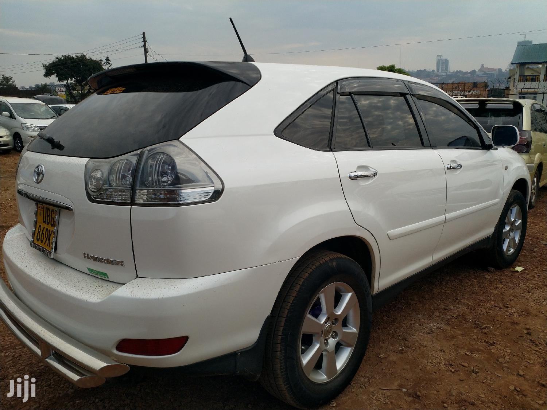 Toyota Harrier 2007 White | Cars for sale in Kampala, Central Region, Uganda