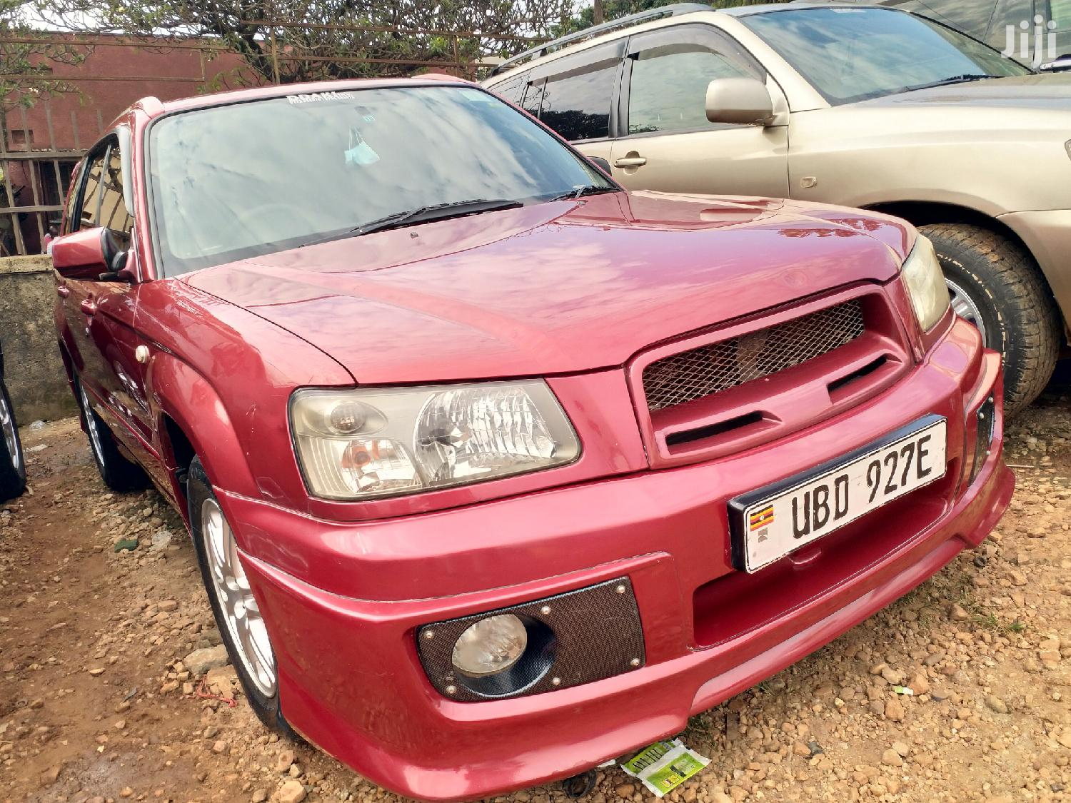 Subaru Forester 2005 2.0 X Active Red