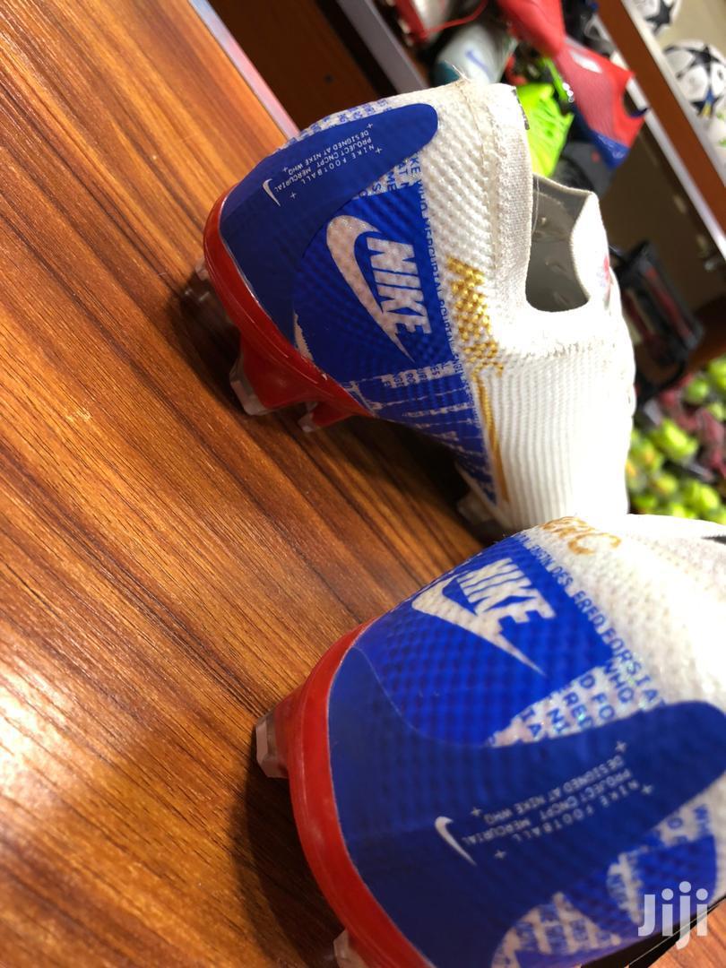 Blue White Merc Nike Football Shoes | Shoes for sale in Kampala, Central Region, Uganda