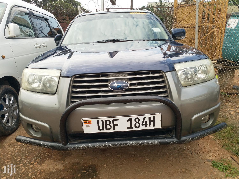 New Subaru Forester 2.0 X Trend 2007 Blue   Cars for sale in Kampala, Central Region, Uganda