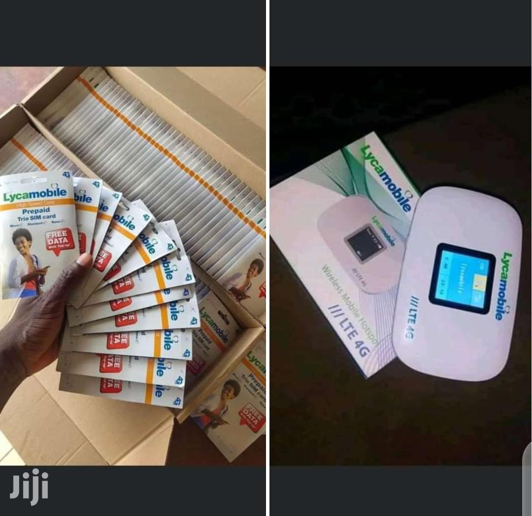 Archive: Lyca Mobile Mifi With Activated Sim Card+ 5gb-Free Delivery
