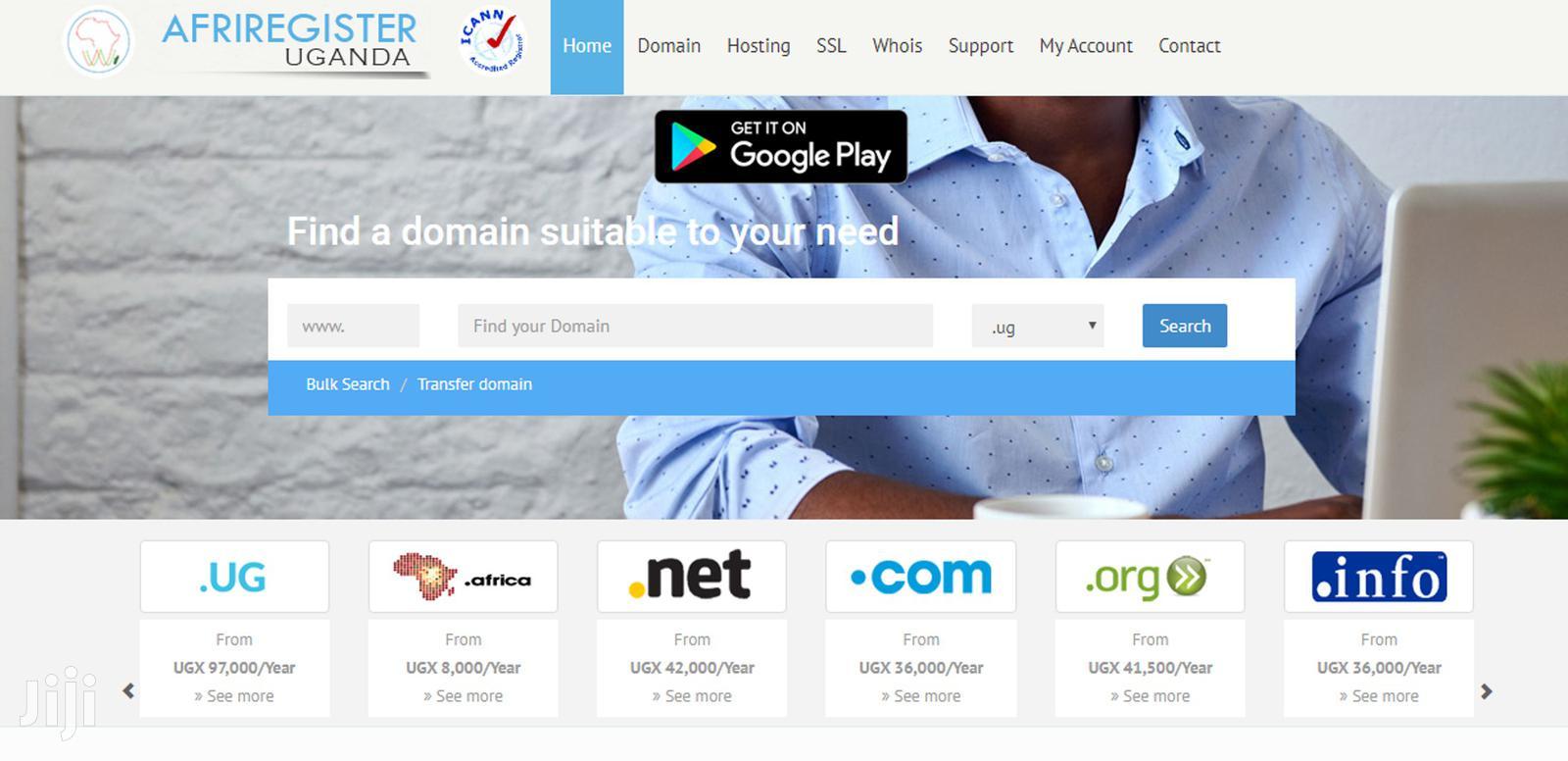 Website Design, Hosting, SSL Certificates Domain Names