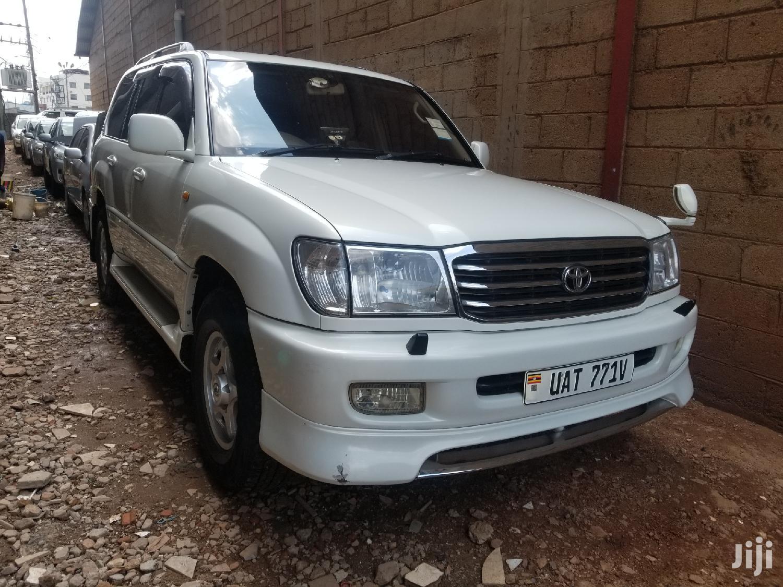 Toyota Land Cruiser 2000 White | Cars for sale in Kampala, Central Region, Uganda