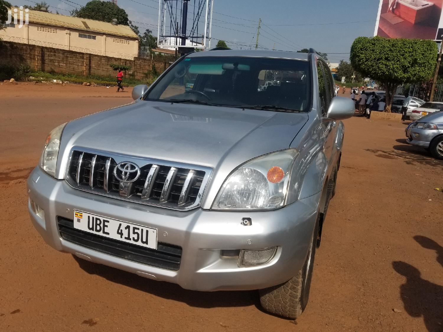 Toyota Land Cruiser Prado 2006 Silver | Cars for sale in Kampala, Central Region, Uganda