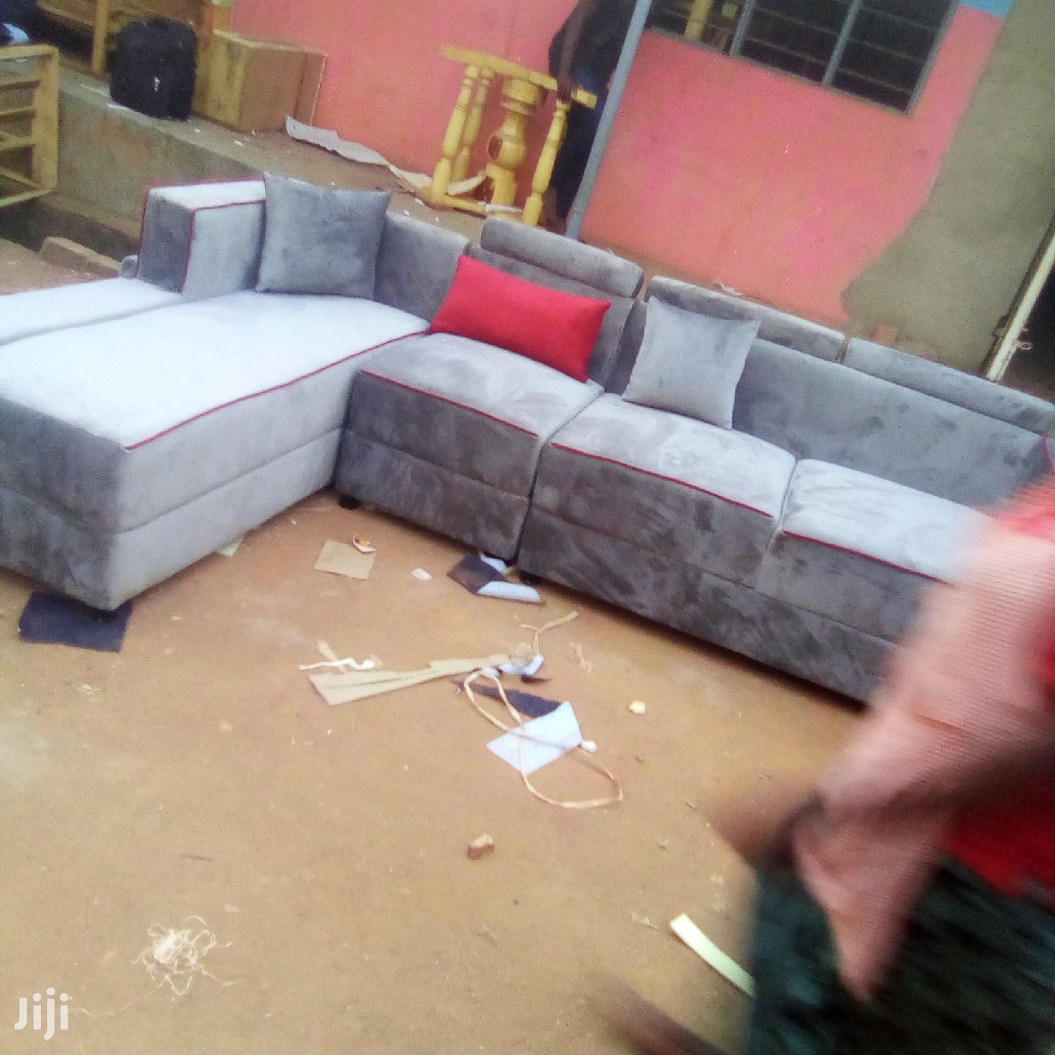 Archive: L Shaped Sofa (7 Seats)