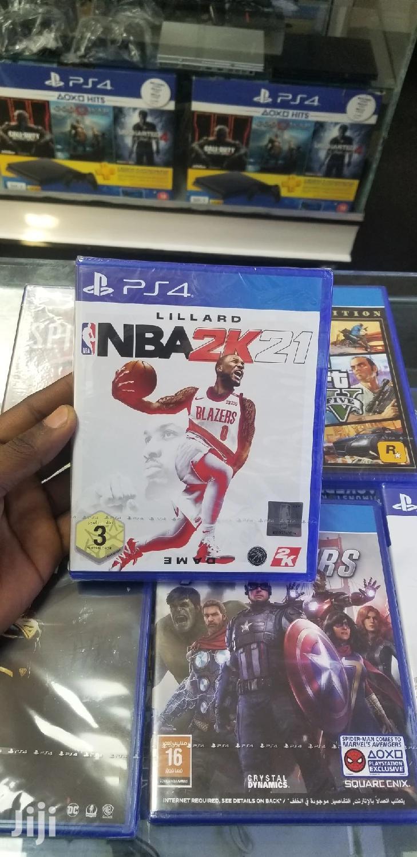 Playstation 4 Games NBA21