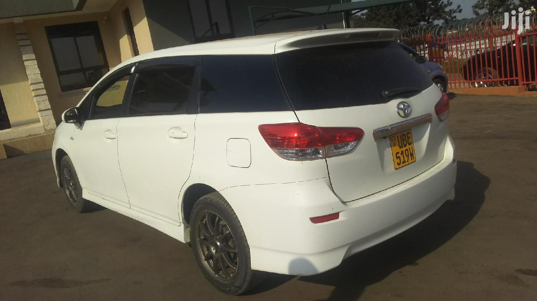 Toyota Wish 2012 White   Cars for sale in Kampala, Central Region, Uganda