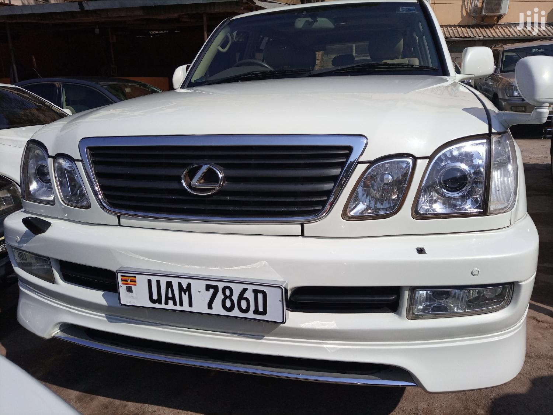 Toyota Land Cruiser 2001 Silver