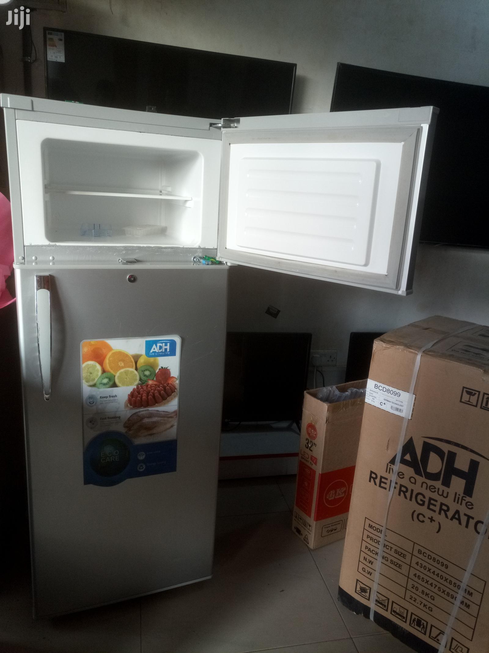 Adh 220 Litres Double Door Refrigerator   Kitchen Appliances for sale in Kampala, Central Region, Uganda