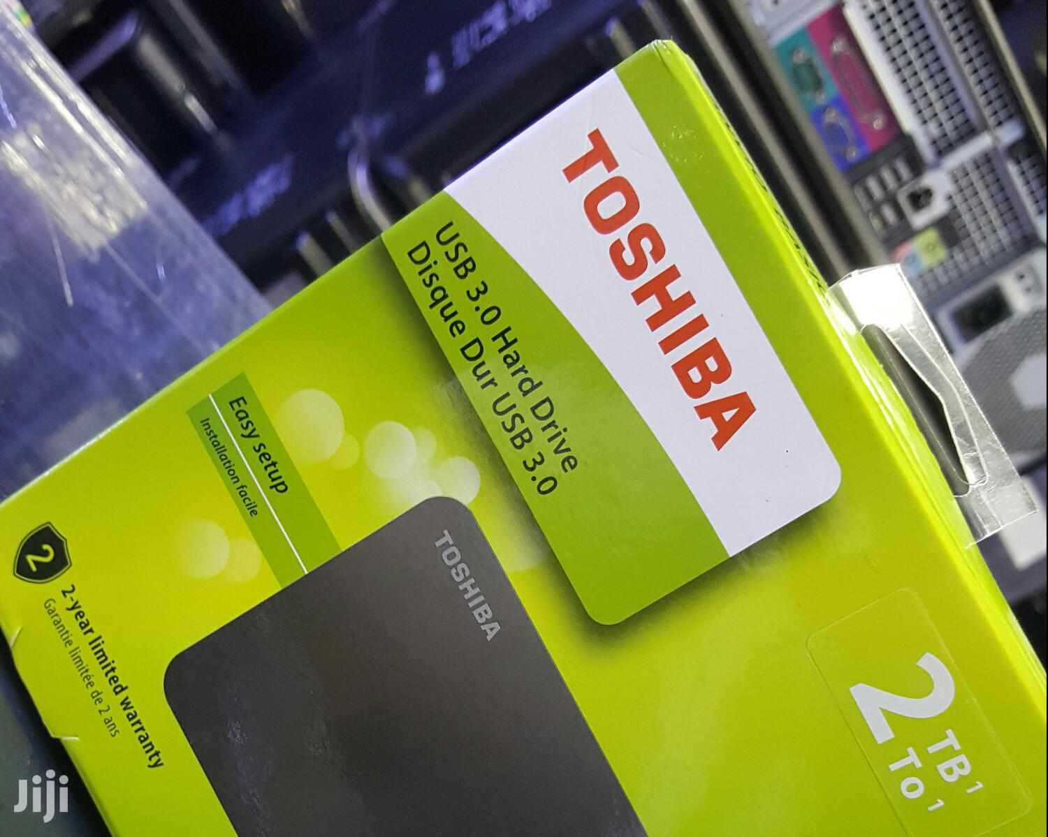 2tb Toshiba External Hard Drive | Computer Hardware for sale in Kampala, Central Region, Uganda