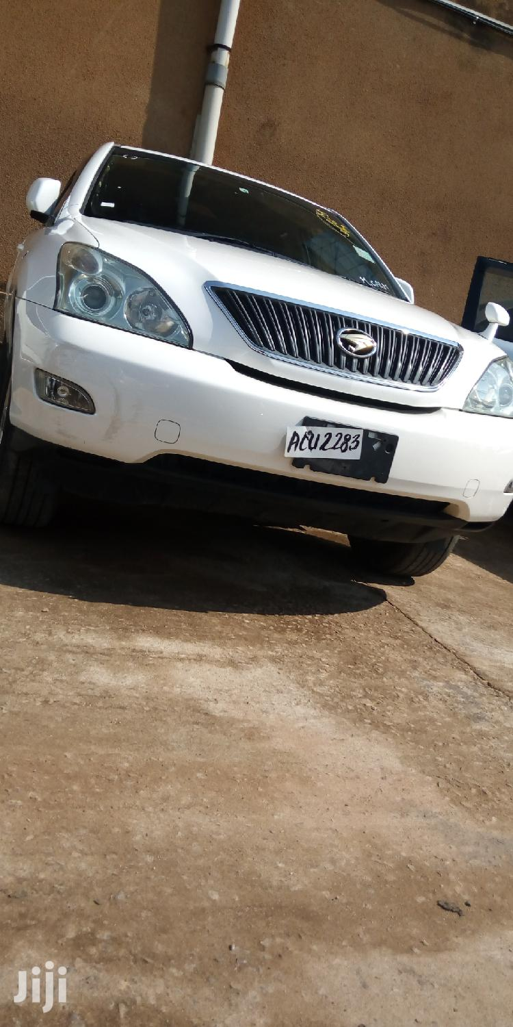 Archive: New Toyota Harrier 2007 White