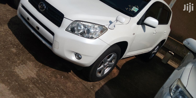New Toyota RAV4 2007 White   Cars for sale in Kampala, Central Region, Uganda