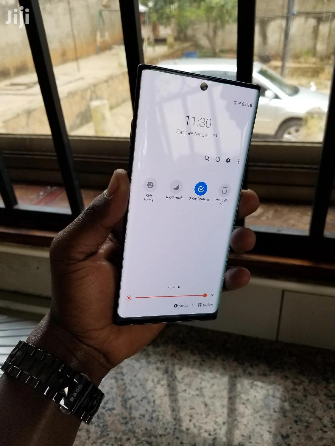 Samsung Galaxy Note 10 Plus 256 GB Black | Mobile Phones for sale in Kampala, Central Region, Uganda