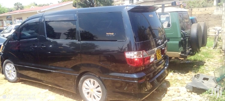 Toyota Alphard 2004 Black | Cars for sale in Kampala, Central Region, Uganda