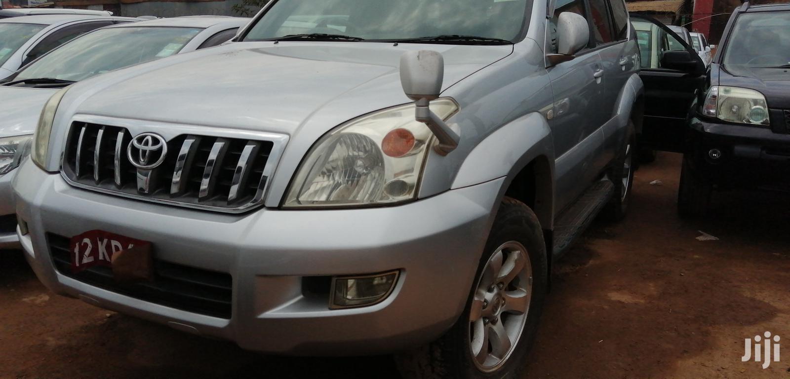Archive: Toyota Land Cruiser Prado 2007 GXL Silver