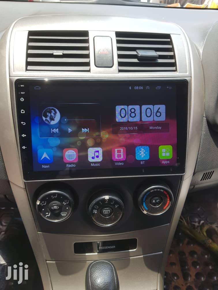 Toyota Fielder Android Radio