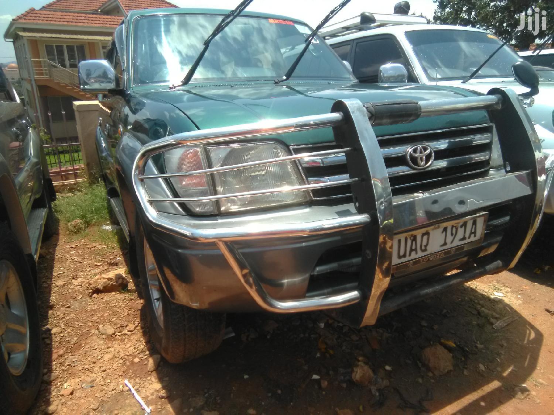 Archive: Toyota Land Cruiser Prado 1997 Green