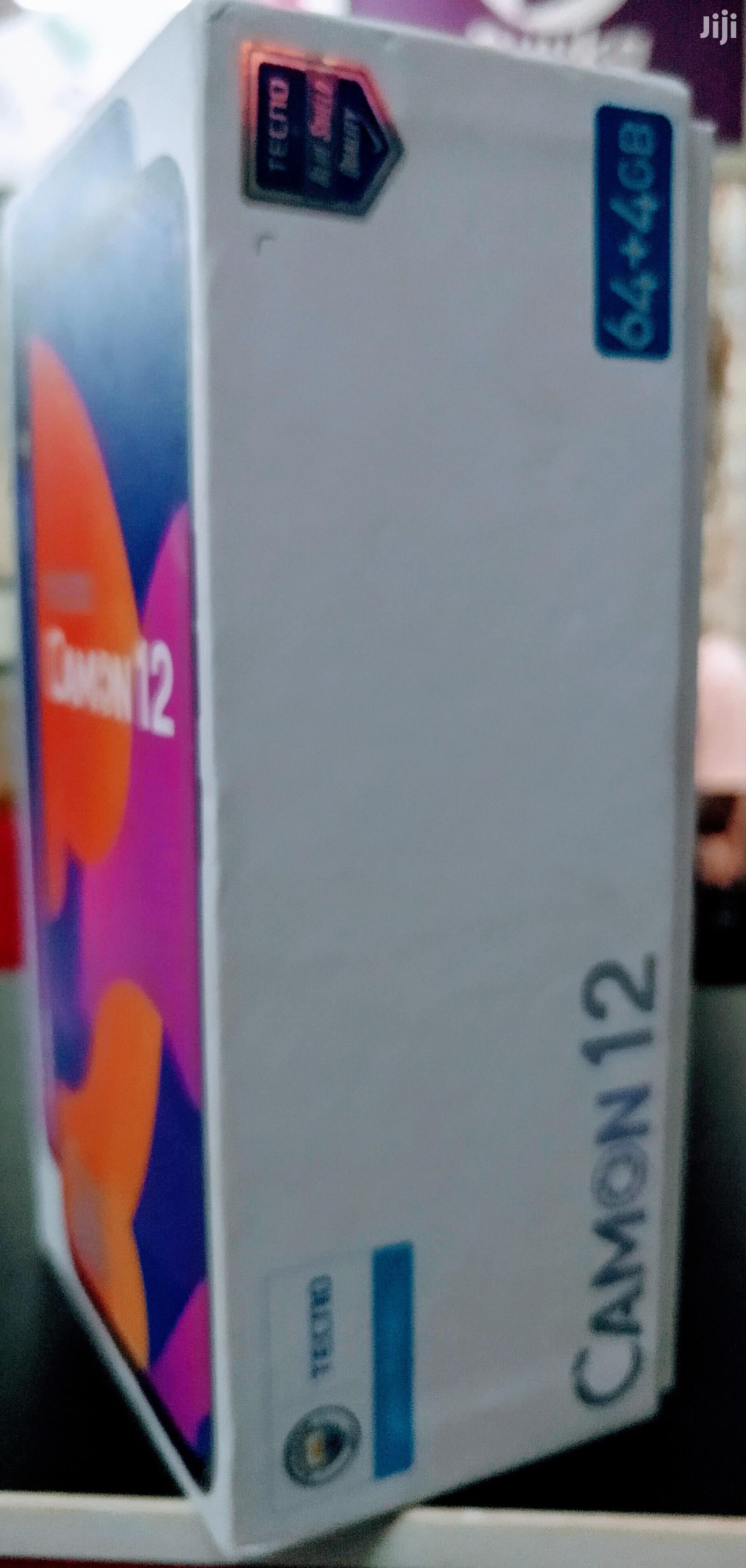 New Tecno Camon 12 64 GB Blue | Mobile Phones for sale in Kampala, Central Region, Uganda