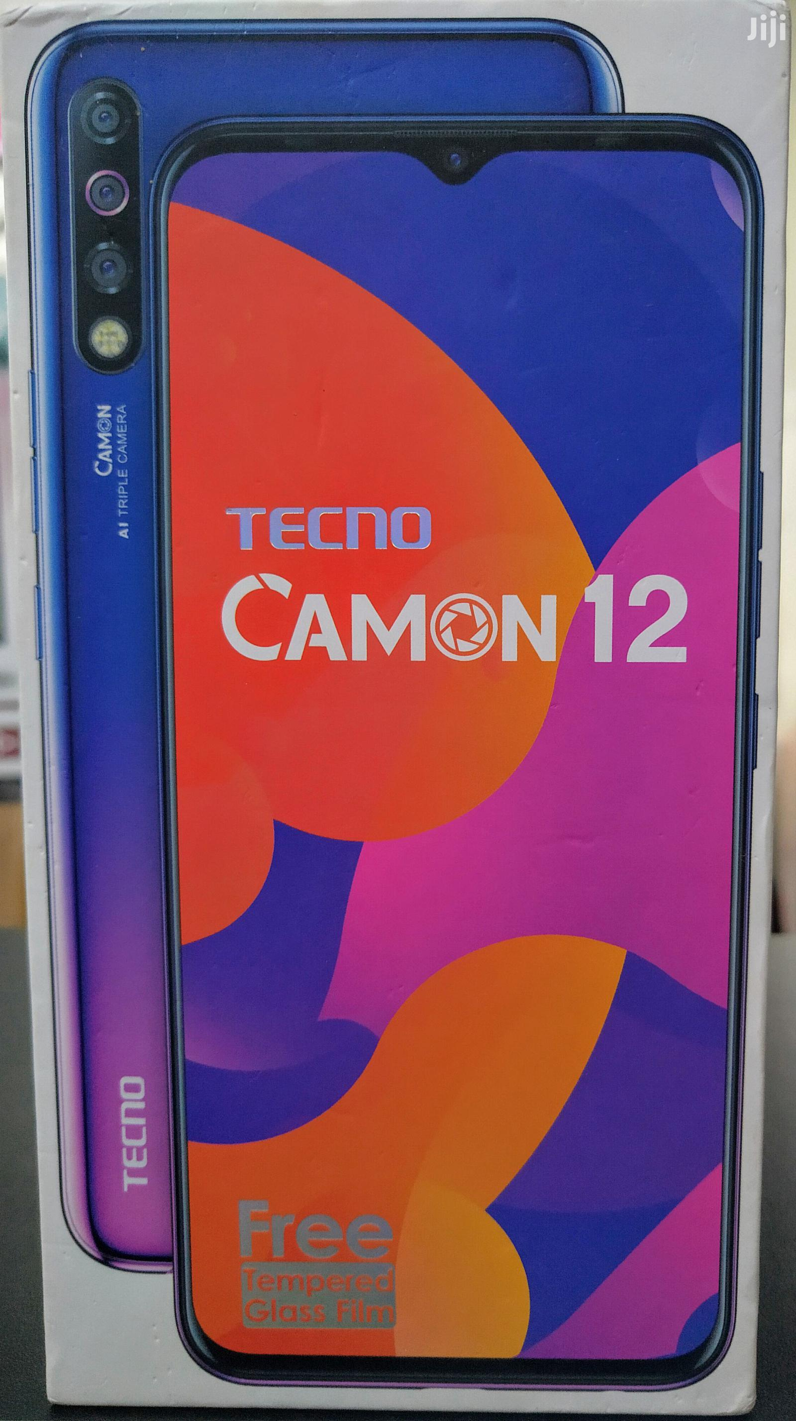New Tecno Camon 12 64 GB Blue