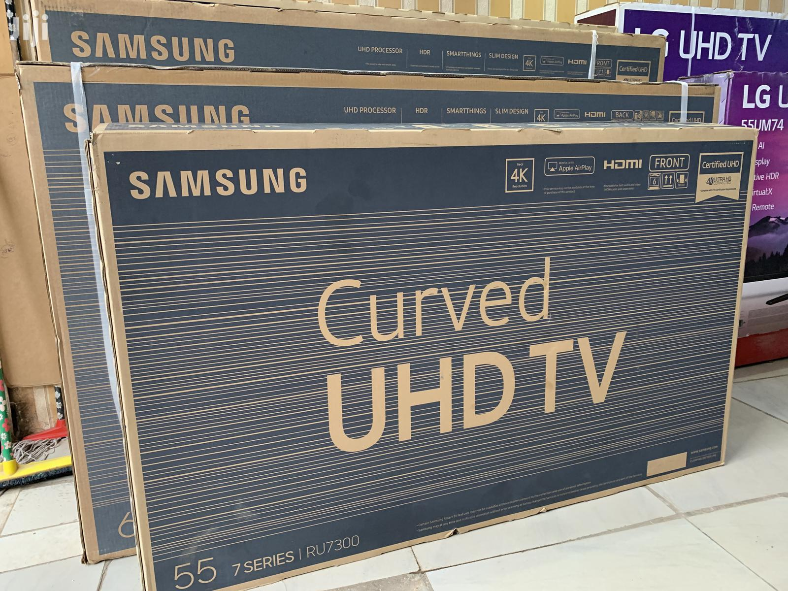 Samsung Curved Uhd 4k TV 55 Inches