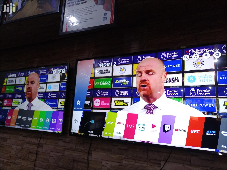 LG Smart Ultra Hd 4K Digital Flat Screen TV 55 Inches