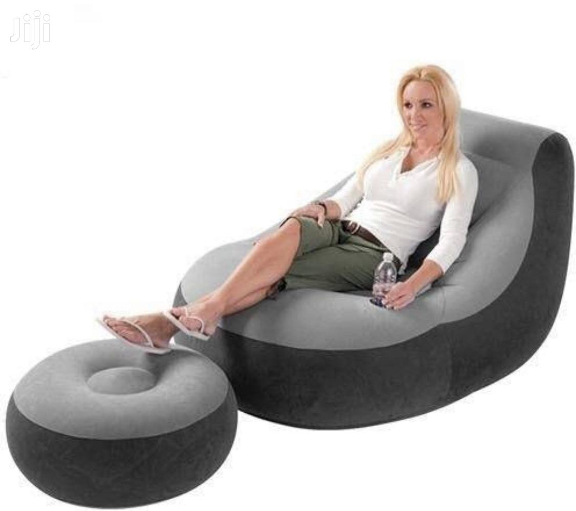 Inflatable Sofa With Free Pump