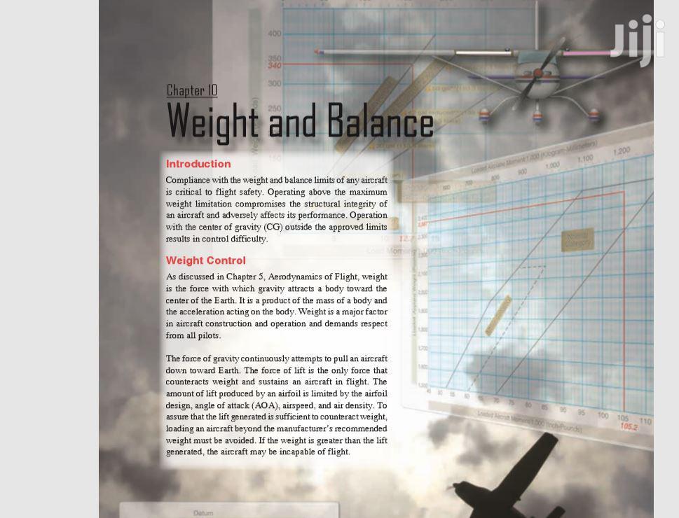 Pilot's Handbook Of Aeronautical Knowledge Soft Copy | Books & Games for sale in Kampala, Central Region, Uganda