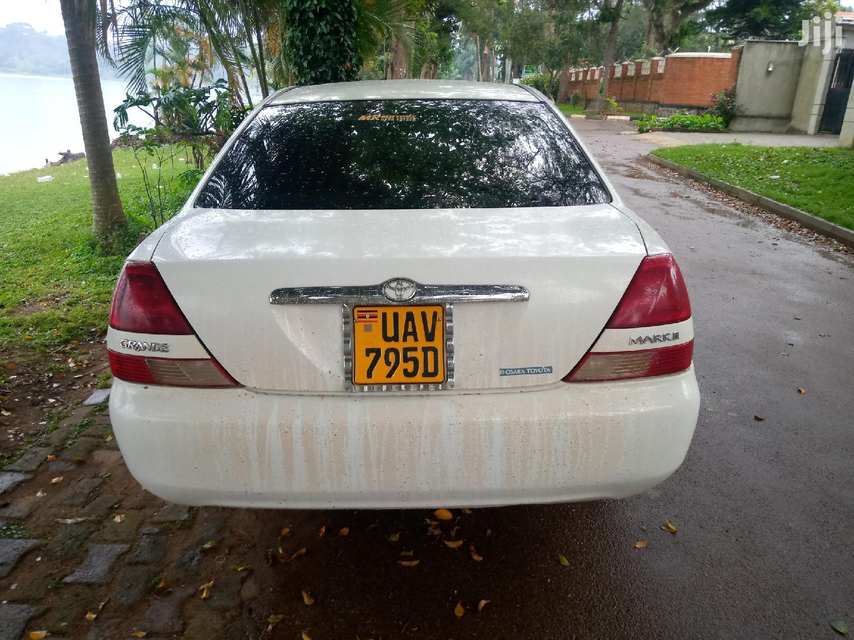 Toyota Mark II 2001 White | Cars for sale in Kampala, Central Region, Uganda