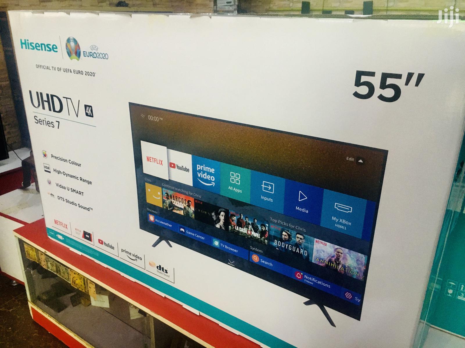 Hisense 55 Inch UHD 4K Smart TV