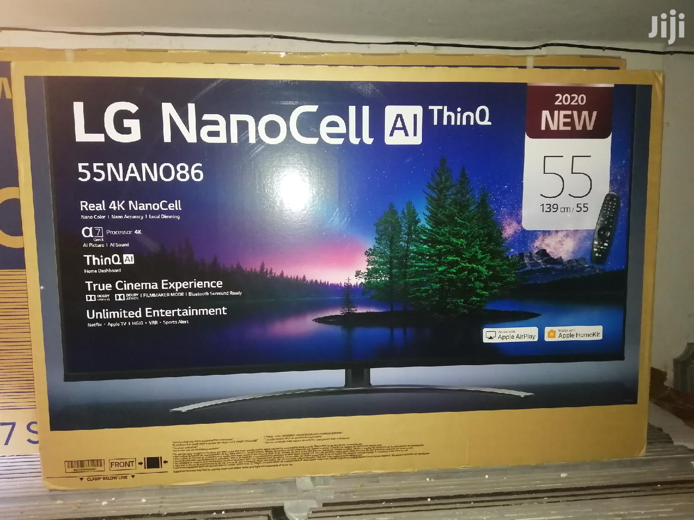 LG Smart Nanocell 4K Uhd TV 55 Inches