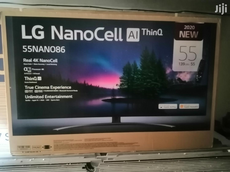 LG Smart Nanocell 4K Uhd TV 55 Inches | TV & DVD Equipment for sale in Kampala, Central Region, Uganda