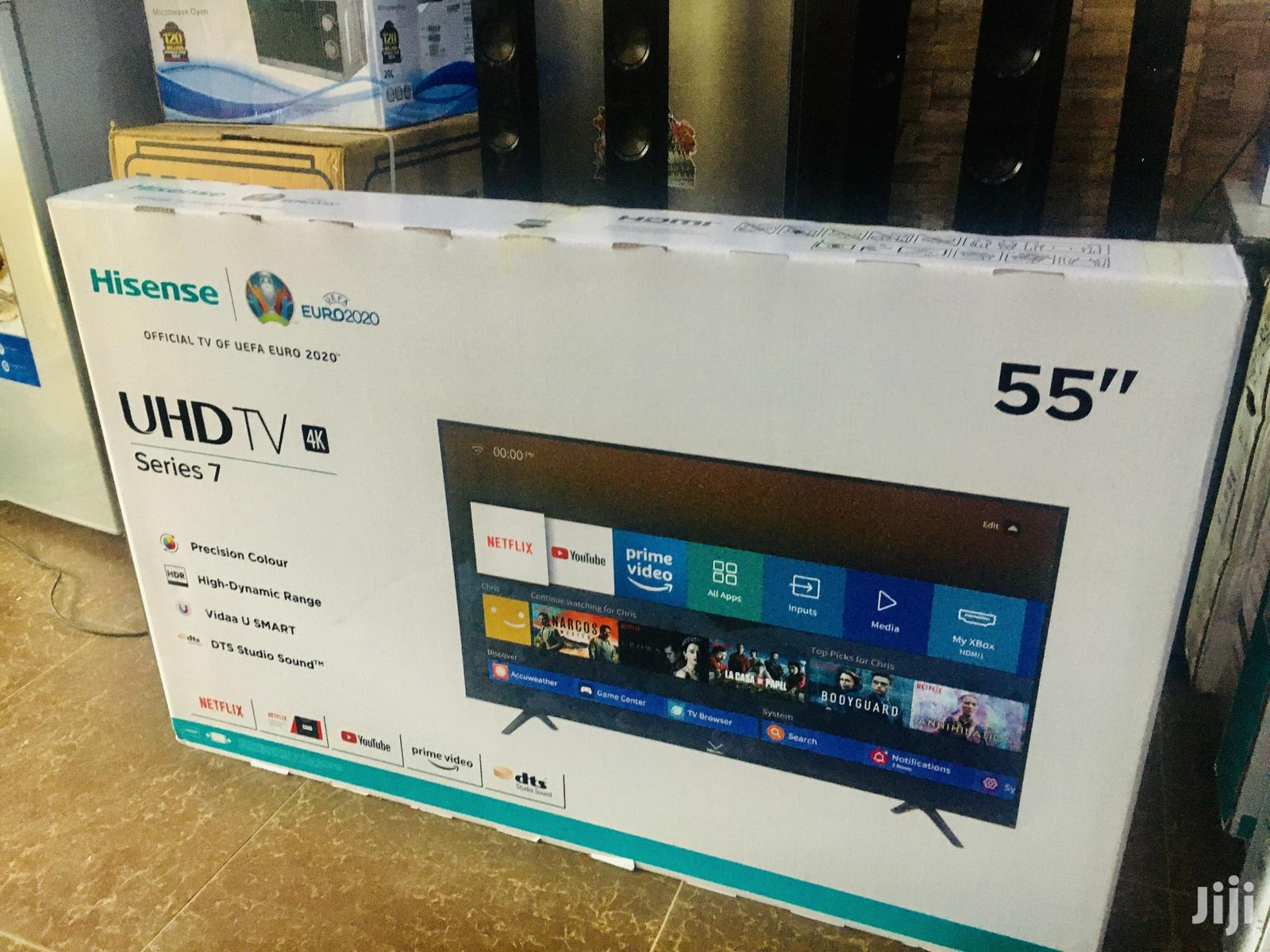 Hisense 55 Inches Smart 4K TV