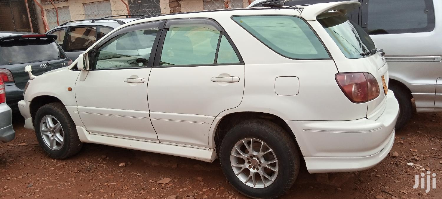 Toyota Harrier 1998 White | Cars for sale in Kampala, Central Region, Uganda