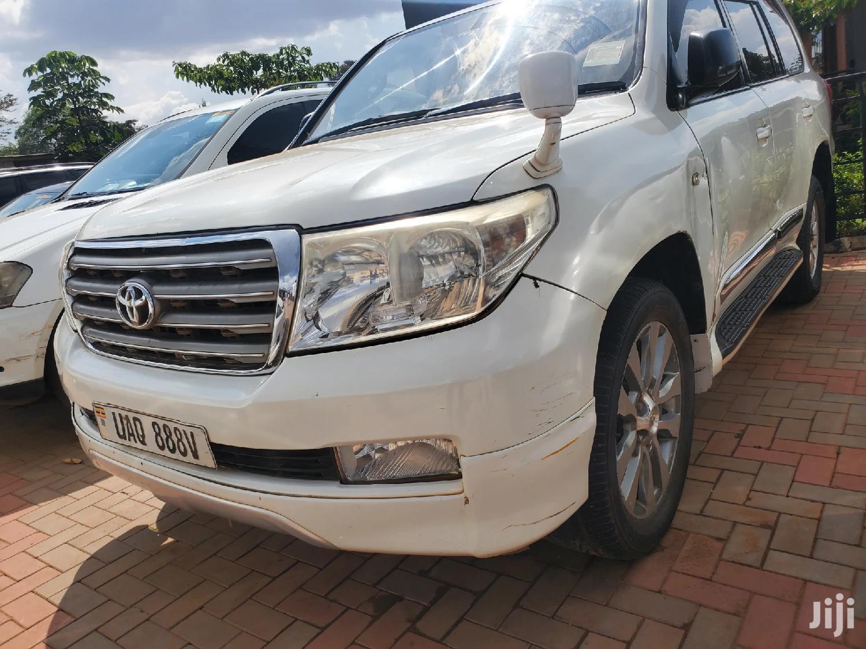 Toyota Land Cruiser 2007 4x4 White   Cars for sale in Kampala, Central Region, Uganda