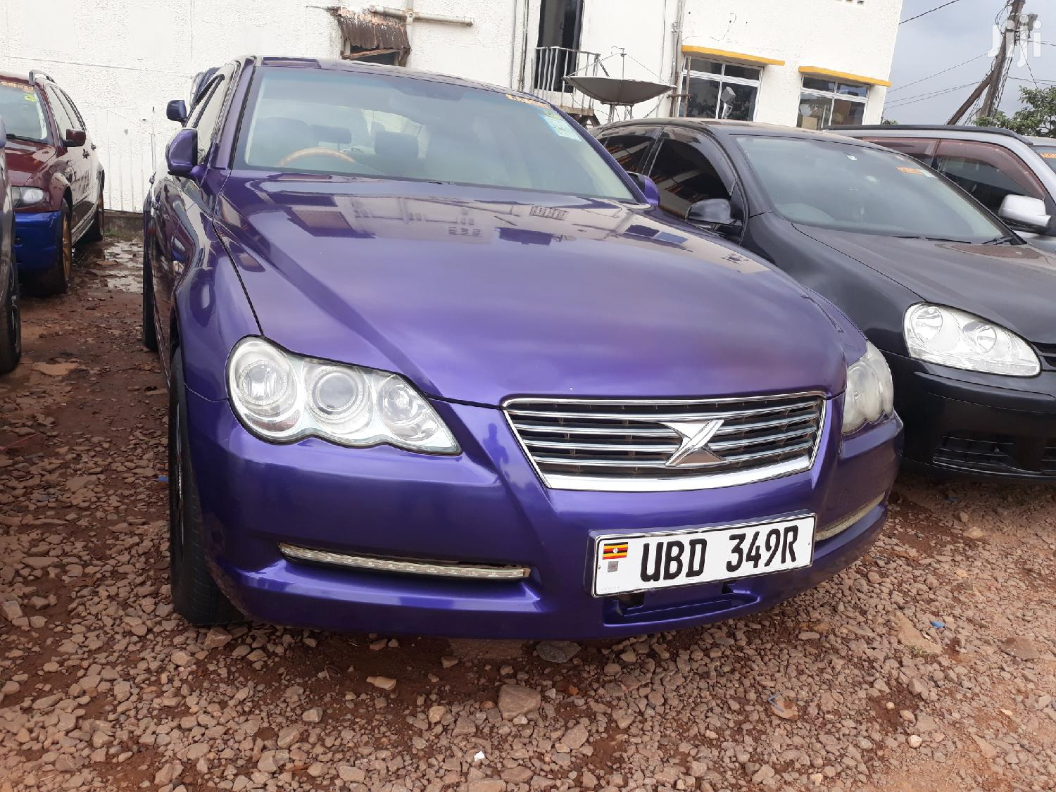 Toyota Mark X 2007 Purple