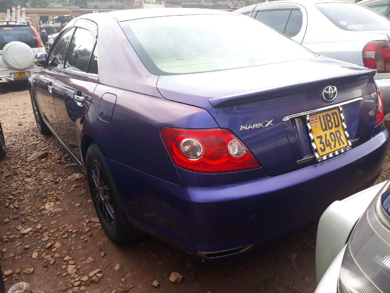 Toyota Mark X 2007 Purple | Cars for sale in Kampala, Central Region, Uganda